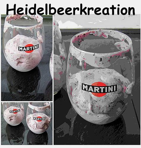 Heidelbeerkreation