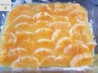 Orangen-Quark-Sahne-Schnitten Backen
