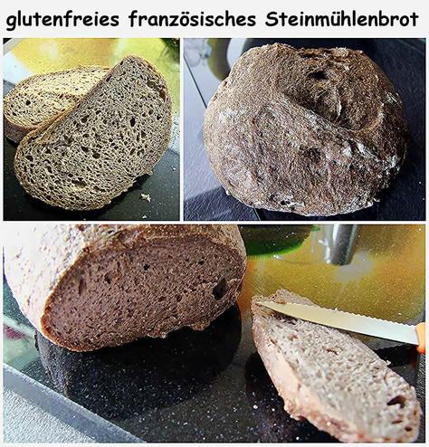 französisches Steinmühlenbrot -  glutenfrei