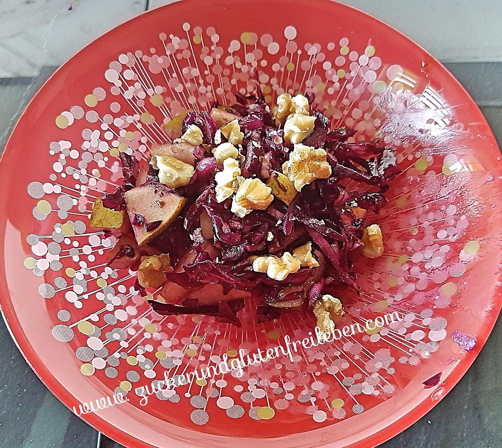 raffinierter Rotkrautsalat