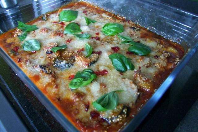 Peperoni-Quinoa-Auflauf