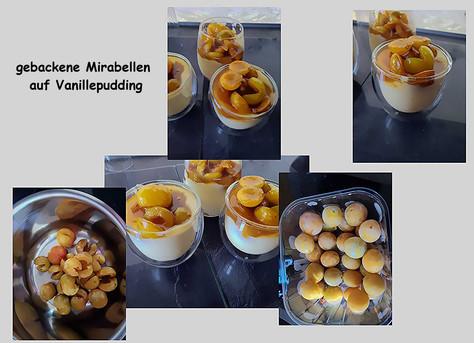 gebackene Mirabellen -