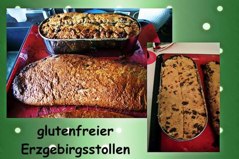 glutenfreier Erzgebirgsstollen