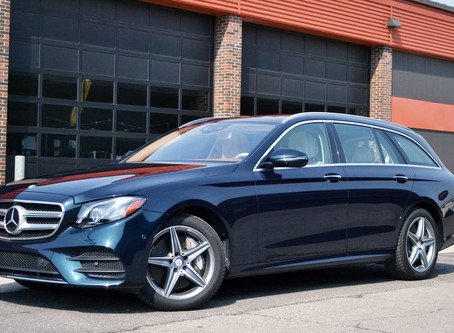 2017 Mercedes-Benz E400 Wagon review: Elegance, understatement and practicality  MERCEDES' HANDS