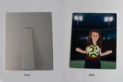 8X10 Metal Display Print