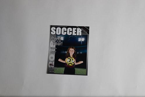 8X10 Magazine Cover