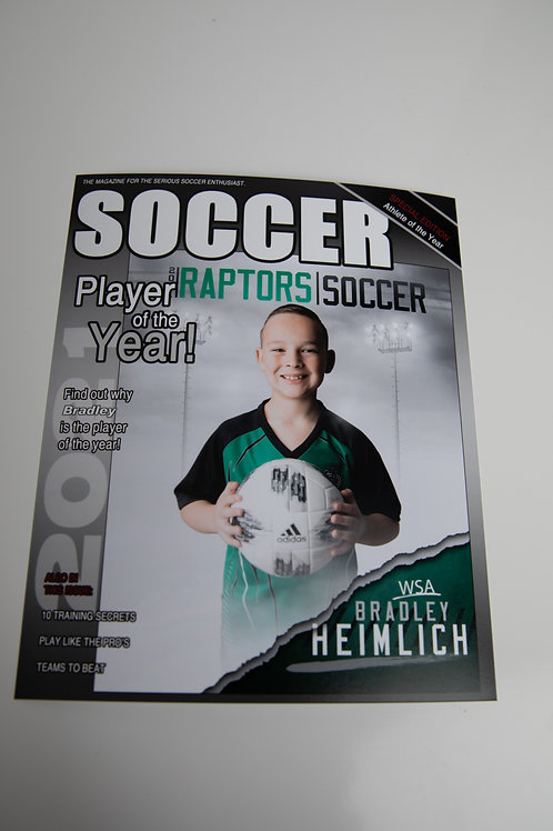 8X10 Magazine Cover -WSA