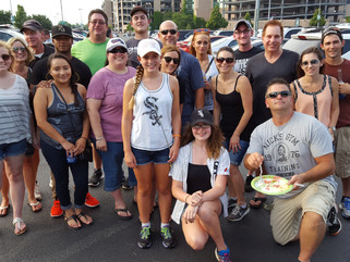 Team Building White Sox Outing