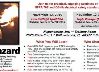 NFPA 70E and OSHA Electrical Safety Seminars