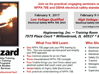 NFPA 70E and OSHA Electrical Safety Seminars