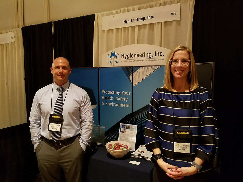 Kevin Konkey, CSP, CET, CHMM Vice President, Safety & Industrial Hygiene Services and Kim Carter, CSP, Director of Environmental Health and Safety Services