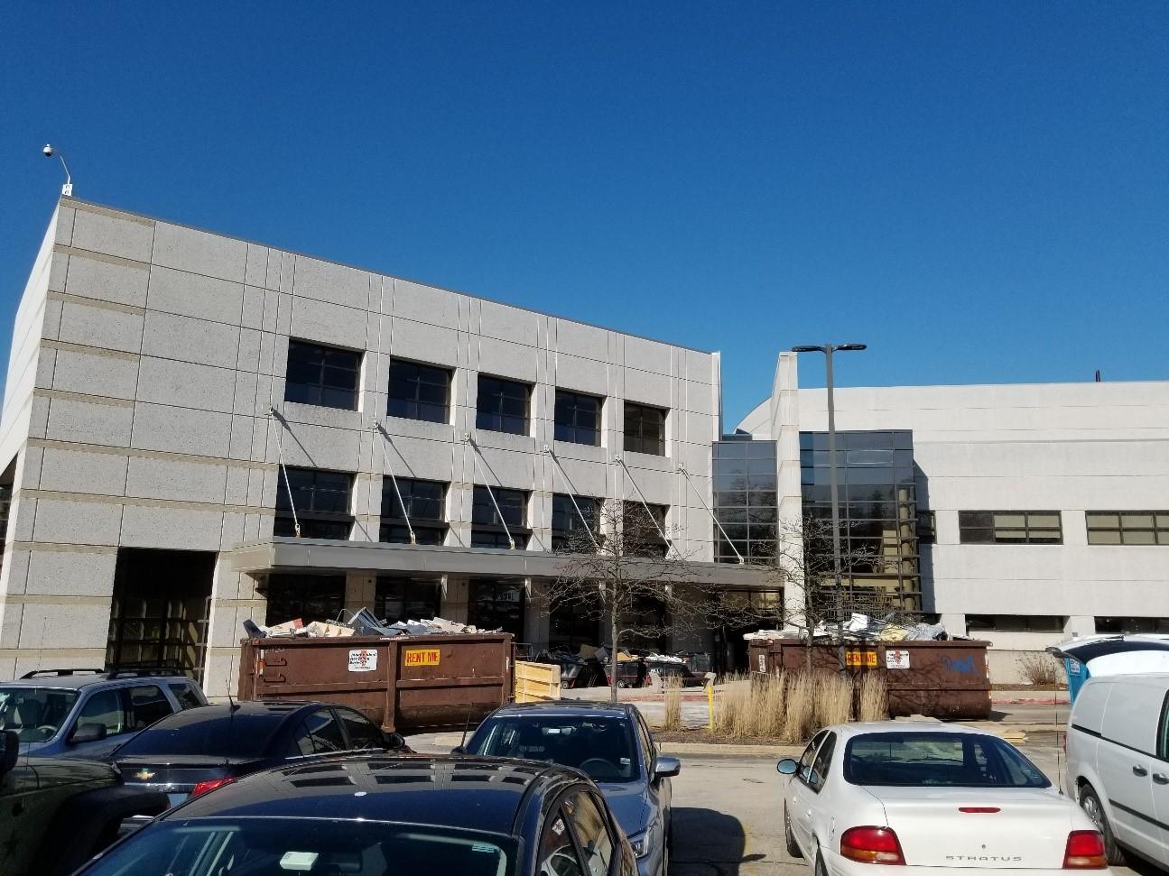 Exterior of Hospital Campus