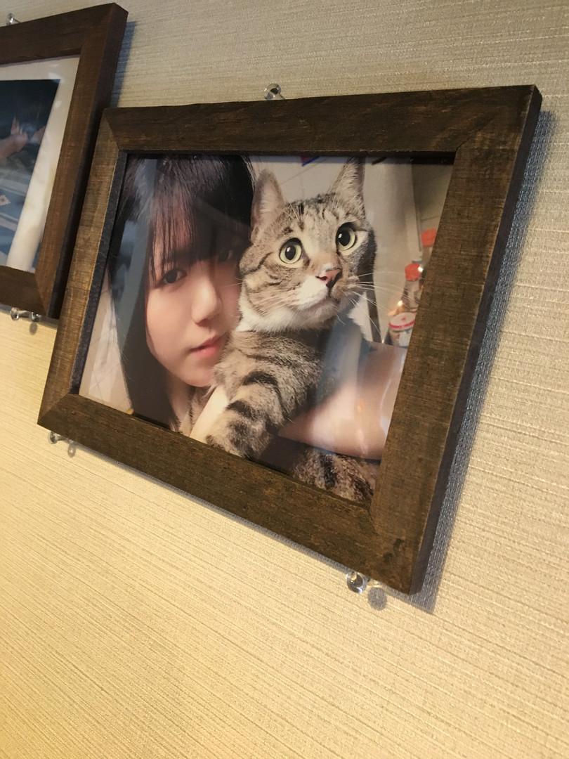 なんちゃらアイドルあおはるさんのお写真も飾らせていただいております。