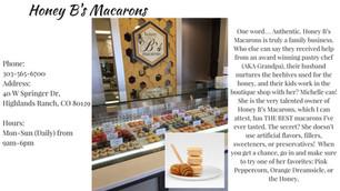 Five in Five: Honey B's Macarons