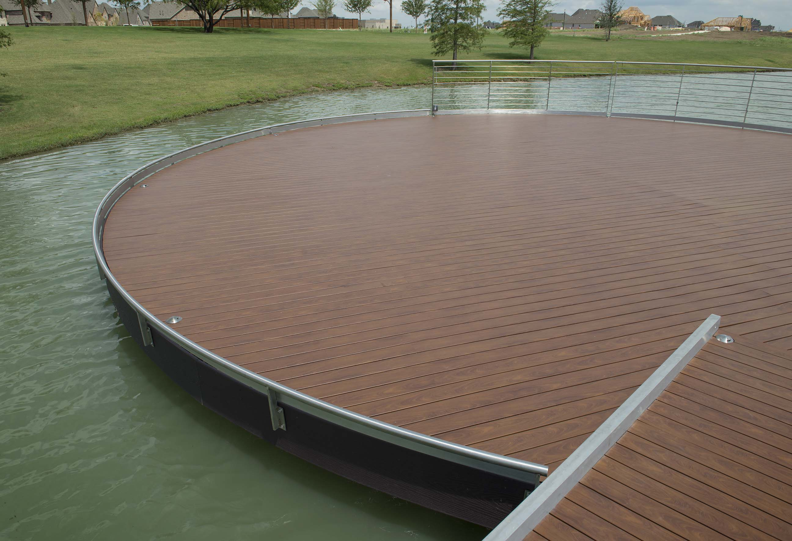 Deck in Prosper, Texas
