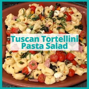Tuscan Tortellini Pasta Salad