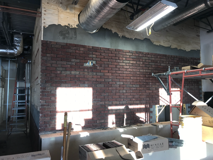 The beginings of the bar