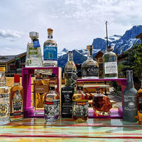 Who needs mountains when you have these awesome tequila peaks!