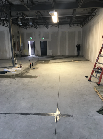 Construction begins today!