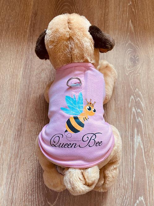 Pink Queen Bee Harness Lines T-Shirt