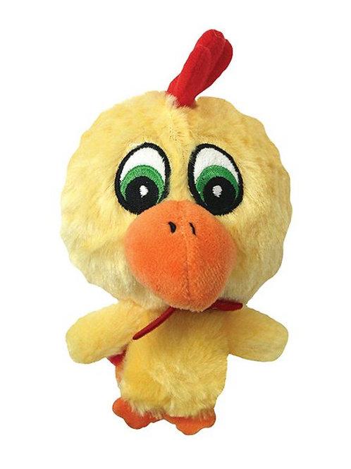 Atomic Chicken Plush & Squeaky Toy