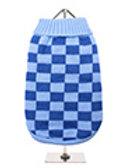 Checker Board Blue Sweater