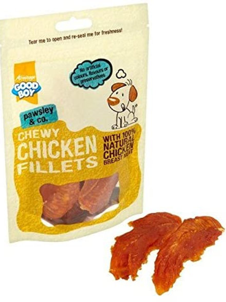 Good Boy Chewy Chicken Fillets 80g