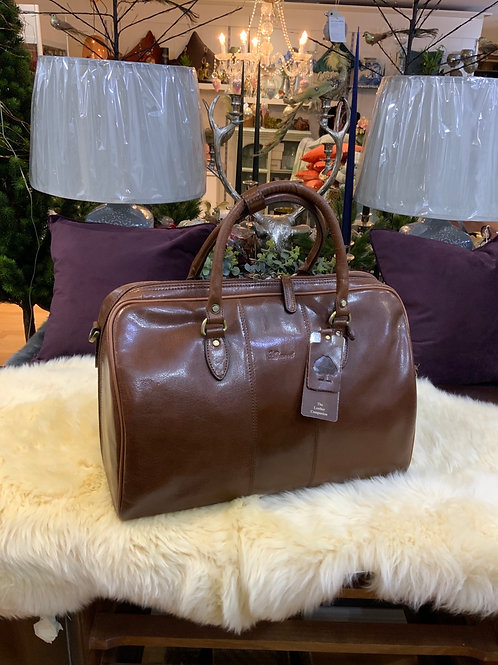 Ashwood Leather Harry Overnight Bag