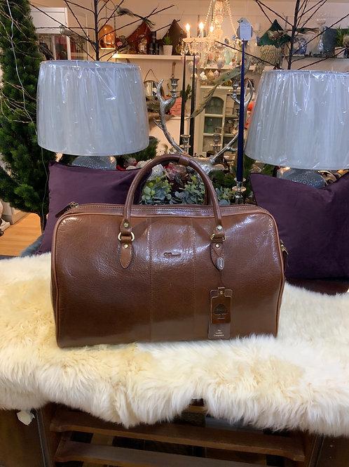 Ashwood Leather Charles Overnight Bag
