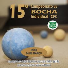 15º Campeonato de Bocha Individual CFC