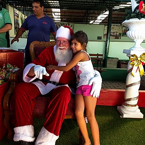 Chegada do Papai Noel 2017