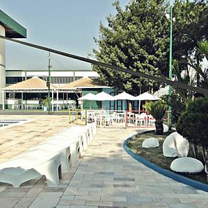 Reinauguração das piscinas