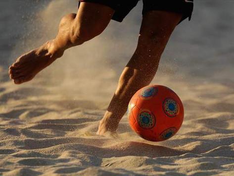 Futebol de Areia - Campeonato encerrado