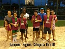 Campeonato de Futebol de areia termina com a premiação dos campeões