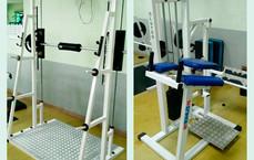 Sala de Musculação recebe novos aparelhos