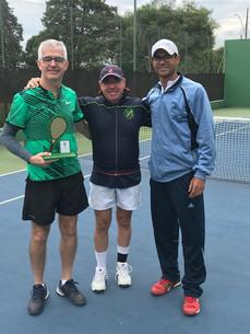 Torneio de tênis chega ao fim