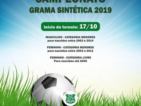 Campeonato de Grama Sintética 2019 - FINAIS