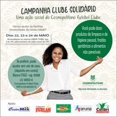 Campanha Clube Solidário