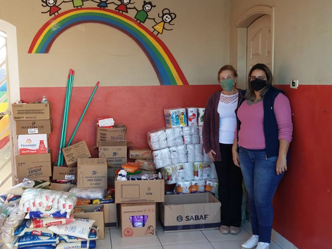 Campanha Clube Solidário: fundamental na pandemia