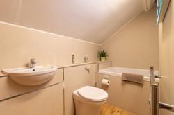 Bathroom with extra large bath