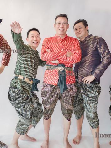Men Thai costume