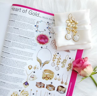 BRIDES May/June issue - Heart of Gold. 💍 .