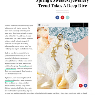 Refinery29 UK fashion coverage // 01 March 2018