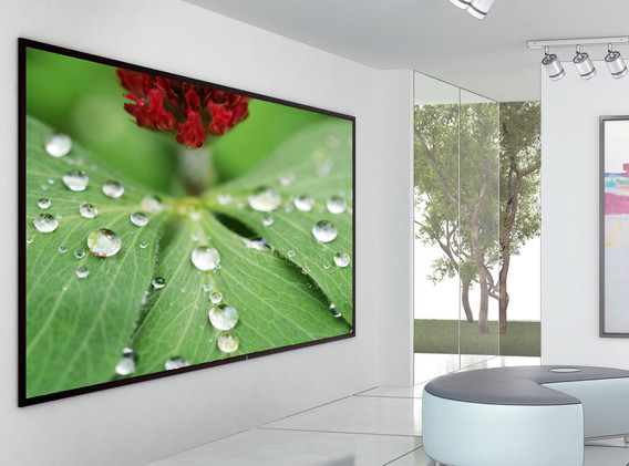 Raindrop in black frame contemporary.jpg
