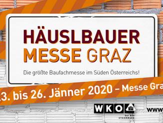 Häuslbauermesse Graz 2020 - Los geht's!