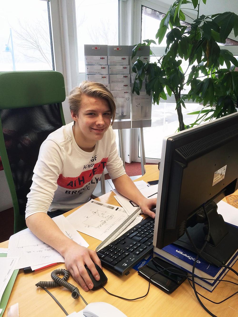 Luca Vötsch Lehrling
