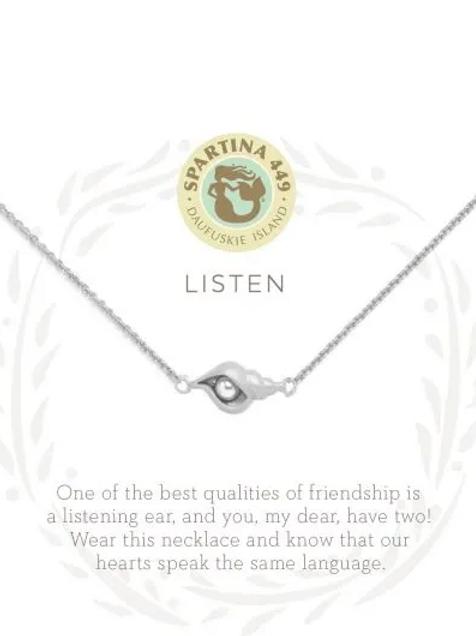 Spartina (silver) - Listen