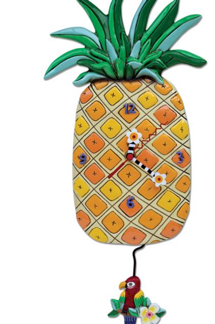 Allen Design Clock - Pineapple