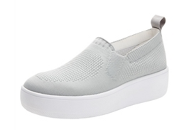 Qaravan Grey - Slip on tennis shoe