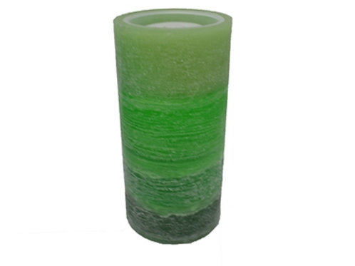 Wax Candle Fountain - Green